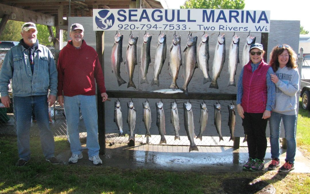 First charter of 2017 a limit catch