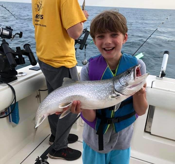 Liam gets his fish